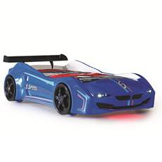 Coupe Car Bed Blue