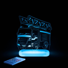Fire Engine LED Sleepy Light