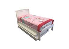Brook King Single Bed Frame With Duvet End