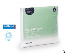 Drylife King Waterproof Breathable Mattress Protector