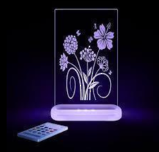 Flower Led Sleepy Light