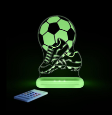 Football with Boots Led Sleepy Light