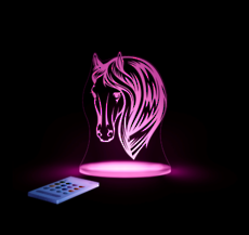 Horse Head Led Sleepy Light