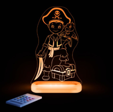 Pirate Boy Led Sleepy Light