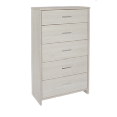Atlas 5 Drawer Tallboy