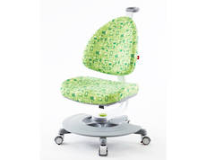 BABO SWIVEL CHAIR GREEN WITH FOOTREST