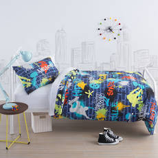 Urban Style Single Duvet Cover Set