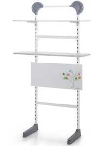 White Shelf Unit