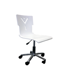 White Computer Swivel Chair