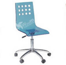 Acrylic Swivel Chair
