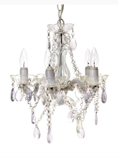 Chandelier Gypsy Clear Large