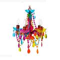 Chandelier Gypsy multi colour small 120