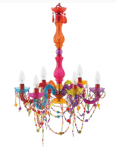 Chandelier Gypsy Multicolour Arms Large