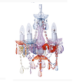 Chandelier Gypsy patel colours small 120