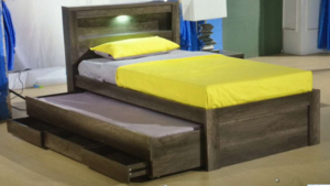 ARC King Single Bed with Trundle Bed