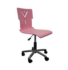 Pink Computer Swivel Chair