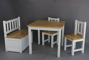 Cubby Table and Chairs Set